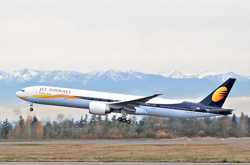 Jet Airways Boeing 777 - Courtesy: Jet Airways