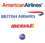 AA, BA and Iberia - Part of Oneworld - Courtesy: Oneworld