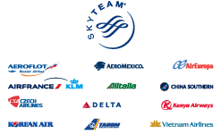SkyTeam Partners - Courtesy: SkyTeam
