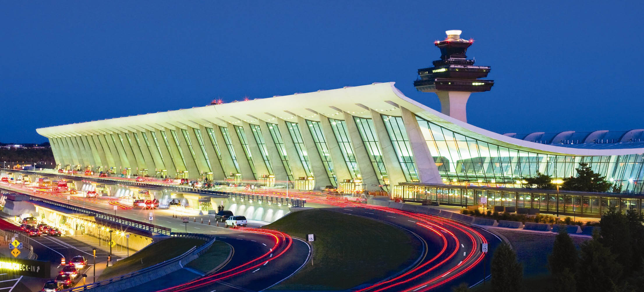 Dulles Main Terminal - Courtesy: Metropolitan Washington Airports Authority